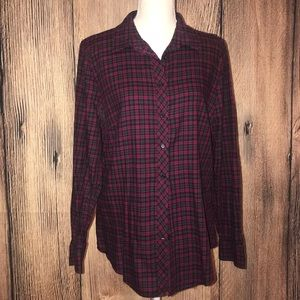 GAP BUTTON DOWN LARGE WOMENS LONG SLEEVED SHIRT